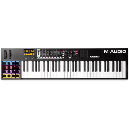 M-Audio CODE61 USB MIDI Keyboard Controller with X/Y Pad - Black