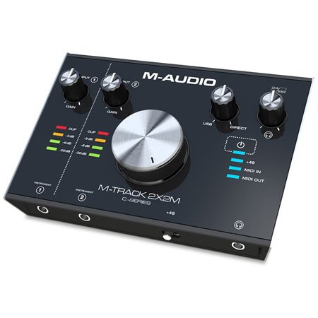 M-Audio MTrack2x2M M-Audio M-Track C-Series 2X2M Interface