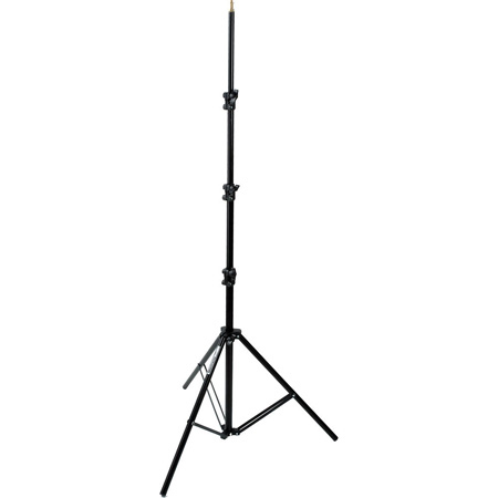 Manfrotto 367B 9 foot Basic Black Light Stand - 5/8in Stud & 015 Top