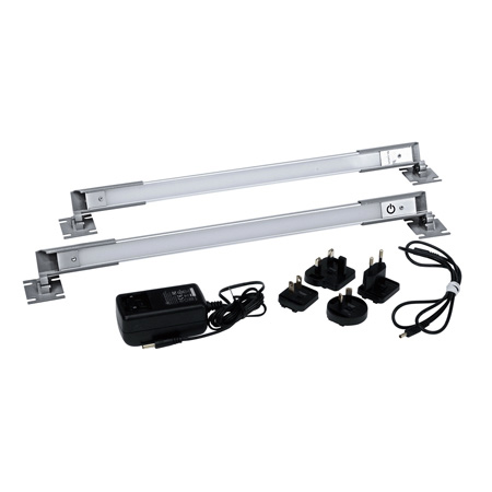 Middle Atlantic LT-CABUTL-DUAL Dual LED Rack & Work Light with Interconnect Cable
