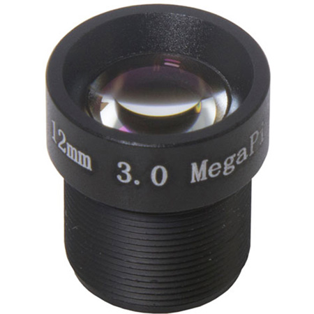 Marshall CV-4712.0-3MP 12.0mm 3MP Fixed M12 Lens