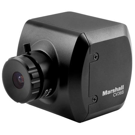 Marshall CV368 Compact 3GSDI/HDMI Genlock Broadcast Camera with Global Shutter