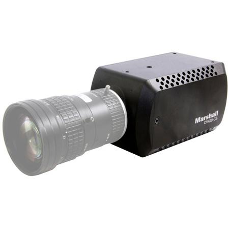Marshall CV420-CS Compact 12MP Camera CS/C-Mount Output HD/UHD (12G/6G/3G-SDI/HDMI-2.0) for video capture