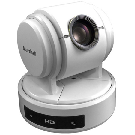 Marshall CV610-U3W-V2 Compact USB3.0/2.0 PTZ 10x Optical Zoom AF UCC Conference Camera w/ USB 3.0 HDMI/CVBS Out (White)
