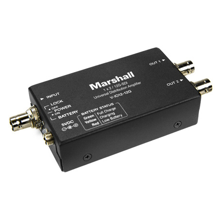 Marshall V-IO12-12G 12G Universal Distribution Amplifier / Line Extender
