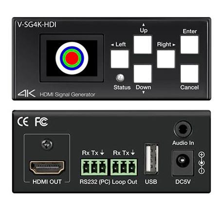 Marshall V-SG4K-HDI 4K UHD HDMI Signal Generator with HDMI Output