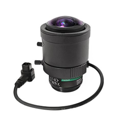 Marshall BAV-VS-M226-A 2.2-6mm F1.3 Fujinon Varifocal 3MP CS Mount with Auto-Iris - 132-50 Degrees Horizontal AOV