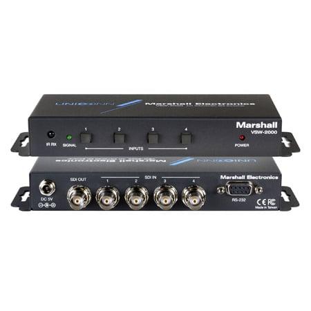Marshall VSW-2000 4x1 3G/HD/SDI Switcher