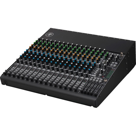 Mackie 1604VLZ4 Compact 16-Channel Audio Mixer with 10 Onyx Mic Preamps