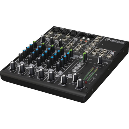 Mackie 802VLZ4 Ultra Compact 8-Channel Mic/Line Audio Mixer with Onyx Preamplifiers