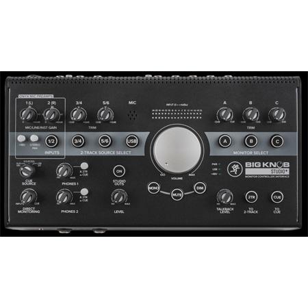 Mackie Big Knob Series Studio-plus 2x4 Studio Monitor Controller & USB Interface