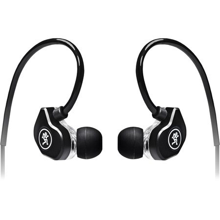 Mackie CR-BUDSplus Dual-Driver Professional Fit Earphones with Mic and Control