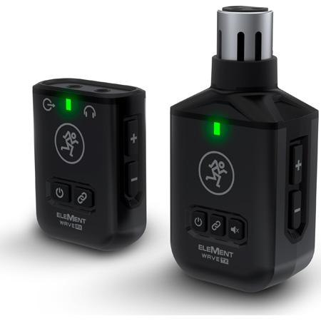 Mackie ELEMENT WAVE XLR Wireless Handheld Microphone System