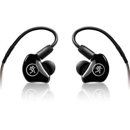 Mackie MP-120 BTA Single Dynamic Driver Professional In-Ear Headphones with Bluetooth Adapter