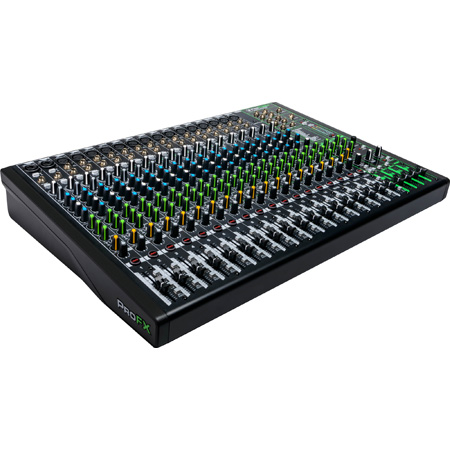 Mackie ProFX22v3 22 Channel 4-bus Professional Effects Mixer with USB