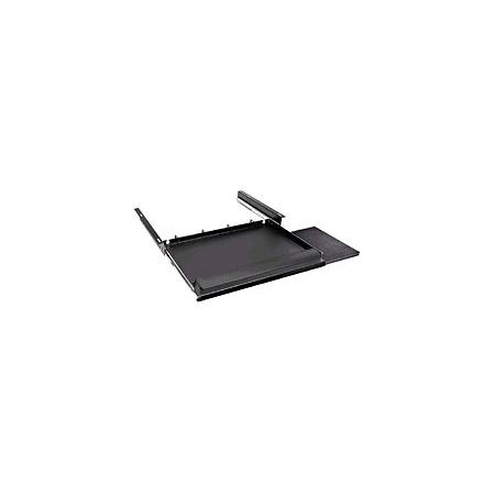 Slide-Out Keyboard Tray for Multi-Desks