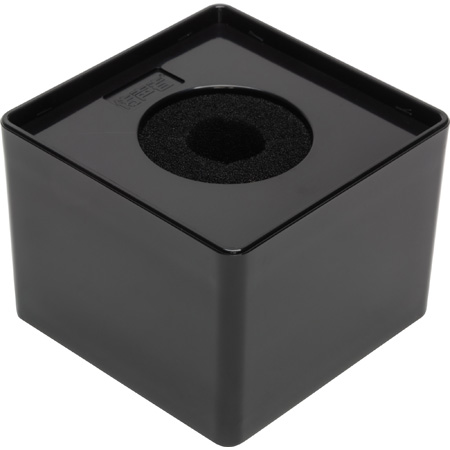 Connectronics MF-S3BK 3.5 inch Square Mic Flag Blank - Glossy Black