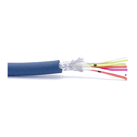 Mogami W2861 7 Conductor Mechatro Shield 28 AWG Cable 500ft