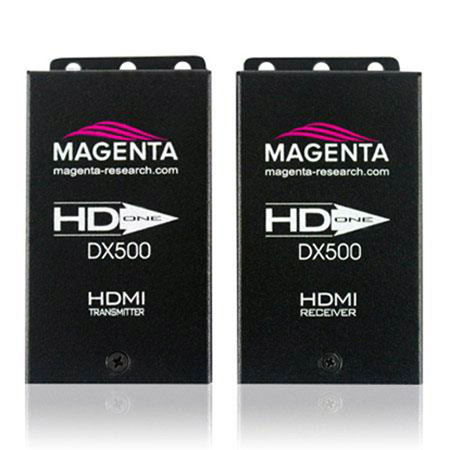 Magenta HD-One DX500 - HDMI Over CAT5 Video and Audio Extension Transmitter and Receiver Kit