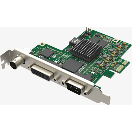 Magewell 11020 Pro Capture AIO 1-Channel PCIe 2.0 Capture Card for SDI/HDMI/VGA/Component/Composite/S-Video w/ Audio