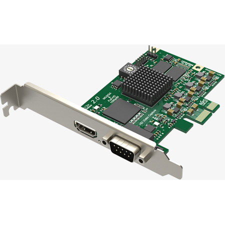 Magewell 11040 Pro Capture HDMI One-Channel PICe 2.0 Capture Card For HDMI/Composite/Component/S-Video w/ Audio