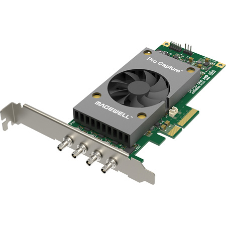Magewell 11180 Pro Capture Dual SDI 4K Plus One-Channel 4K SDI Capture Card