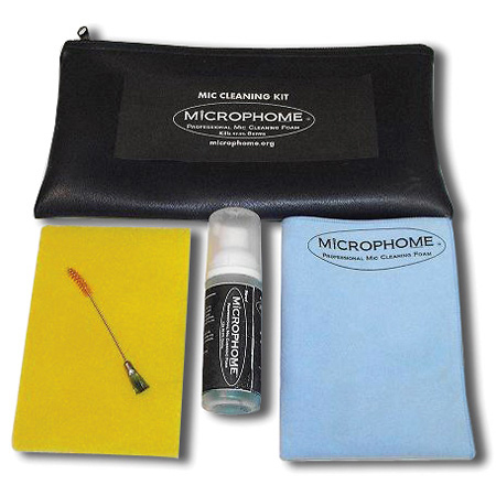 Microphome Sanitizer / Deodorizer / Disinfect Cleaner for Microphones
