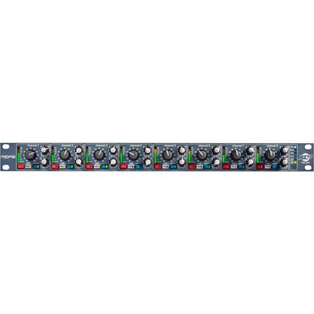 Midas XL48 8-Channel 96kHz 24-Bit Digi-Log Microphone Preamp