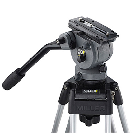 Miller 184 DS20 Fluid Head - 75mm Ball Levelling