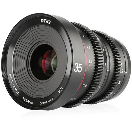 Meike MK-35T22-M43 Cinema Prime 35mm T2.2 MFT Lens