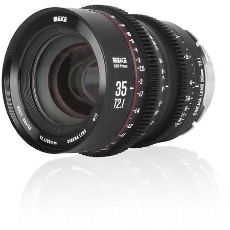 Meike MK-S35T21-EF Super35 Cinema Prime 35mm T2.1 EF Lens