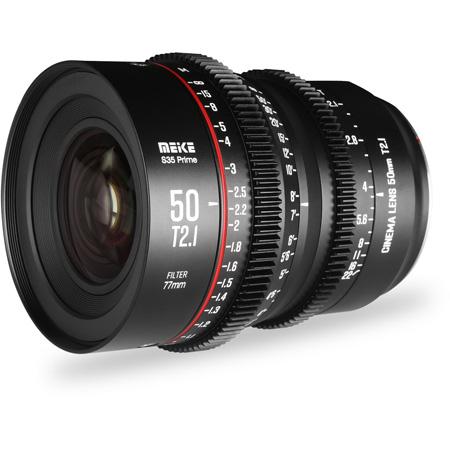 Meike MK-S50T21-EF Super35 Cinema Prime 50mm T2.1 EF Lens