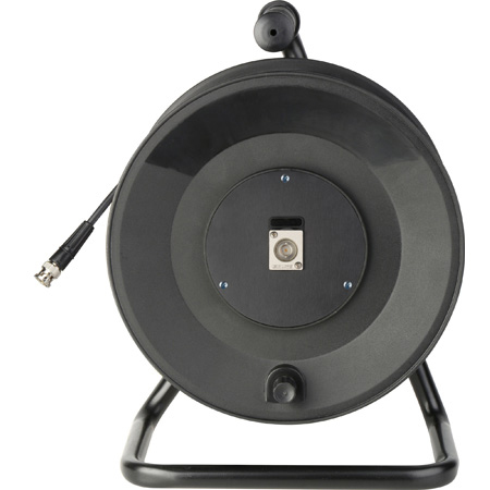 Jackreel Deluxe MKR-1-1694A-100 1-Channel BNC 3G-SDI Snake Reel with Belden 1694A RG6 - 100 Foot