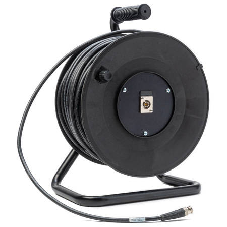 Jackreel Deluxe MKR-1-1694A-250 1-Channel BNC 3G-SDI Snake Reel w/ Belden 1694A RG6 - 250 Foot - Bstock (Used/Repaired)