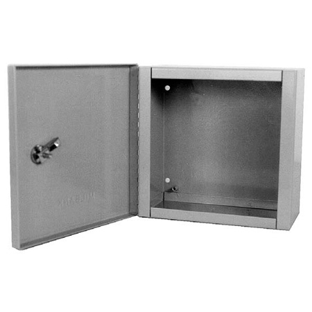 Milbank 884-LC1 Indoor Surface Mount Hinged Cover Junction / Pull Box 8x8x4