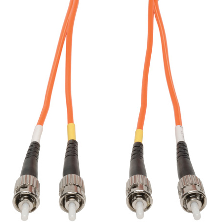Camplex MMD62-ST-ST-001 62/125 Fiber Optic Patch Cable Multimode Duplex ST to ST - Orange - 1-Meter
