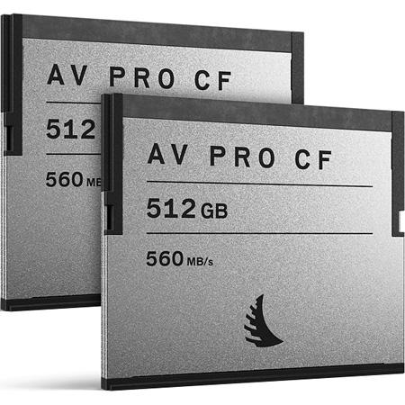 Angelbird MP-URSA-512CFAX2 Memory Card Match Pack for URSA Mini 512 GB - 2 Pack