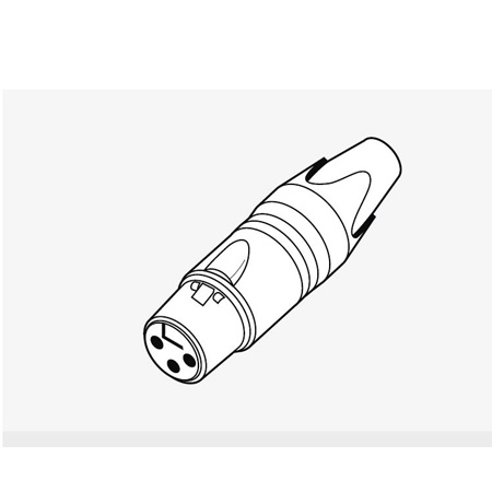 NTI Cable Test Plug for MR-PRO Minirator Audio Signal Generator
