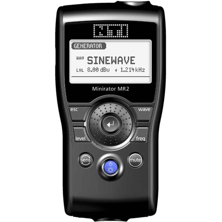 NTI MR2 Minirator Audio Generator