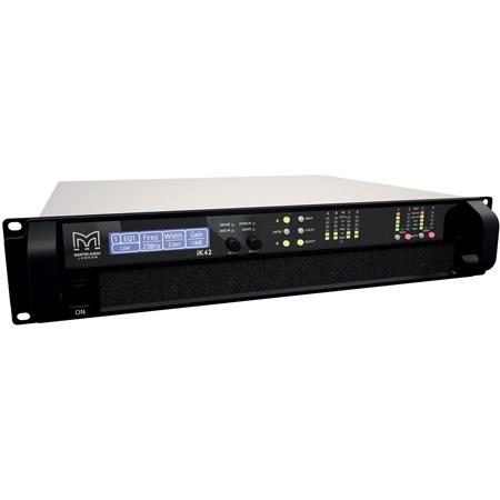 Martin Audio iKON iK42 High Power Four-Channel Class D Amplifier with Dante Imputs