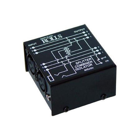 Rolls MS20c Mic Splitter / Combiner / Isolator