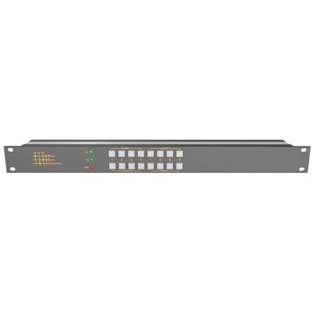Matrix Switch MSC-UXD44L 4-Input/4-Output 4K 12G-SDI 4x4 Matrix Video Switcher with Local Button Control Panel