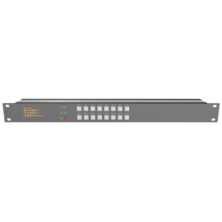 Matrix Switch MSC-UXD88L 8-Input/8-Output 4K 12G-SDI 8x8 Matrix Video Switcher with Local Button Control Panel