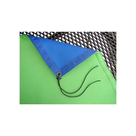 Matthews 319161 8x8 Ft. Blue/Green Chromakey Screen