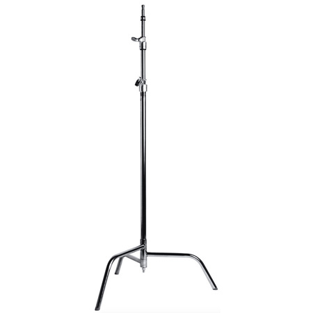 Matthews 40 Inch C Stand w/Spring Loaded Base- Chrome