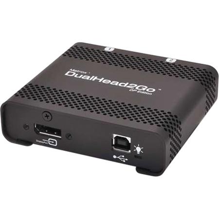Matrox D2G-DP2D-IF Digital SE DualHead2Go DisplayPort Multi-Display for PC