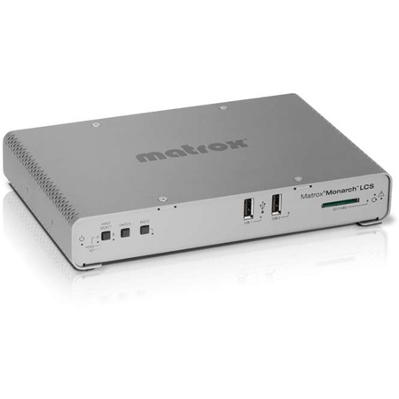 Matrox MHLCS/I Monarch LCS Multi-source Streaming and Recording Appliance