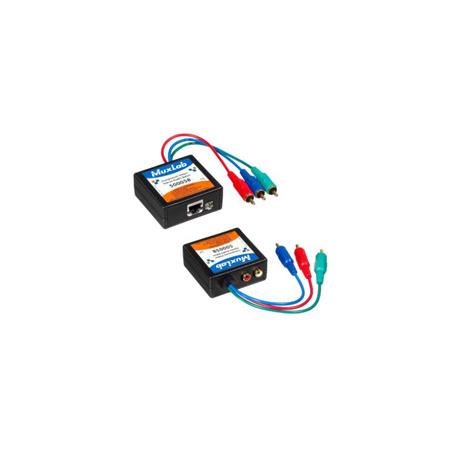 MuxLab 500058-2PK Component Video/Stereo Audio Balun - 2 Pack