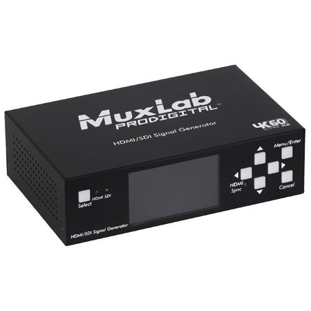 Muxlab 500830 HDMI 2.0/3G-SDI Test Signal Generator