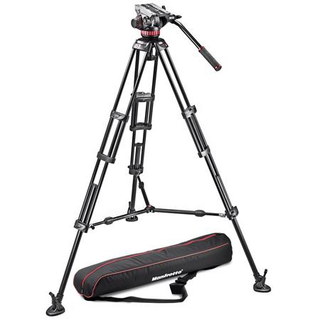 Manfrotto MVH502A546BK-1 Pro Video MVH502A with 546B Tripod